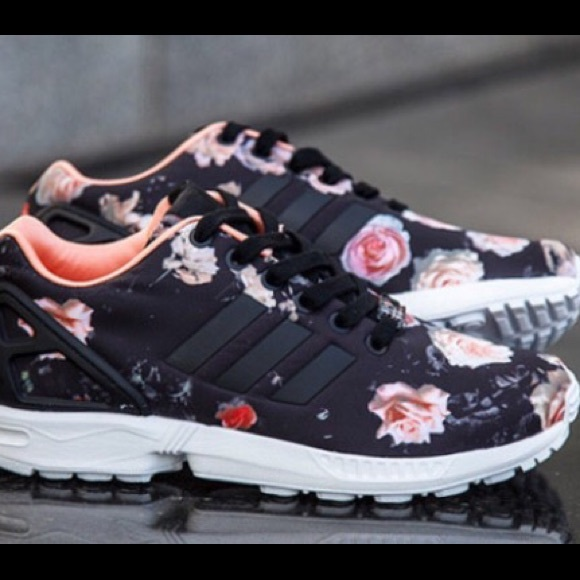9b571f05bfa9 Adidas Shoes - Adidas floral flux zx women s 9