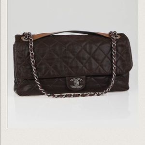 CHANEL Handbags - SALE!!! 💯 auth Chanel iridescent in the mix flap