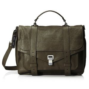 Proenza Schouler Handbags - Proenza Schouler ps1 large shoulder bag -military