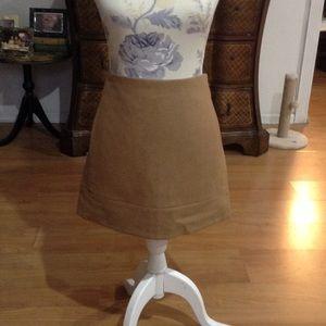 J. Crew Wool Mini Skirt w/ Pockets