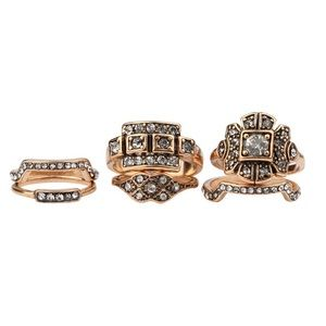 Karis' Kloset Jewelry - Jewelry | 6 item vintage style engagement ring set