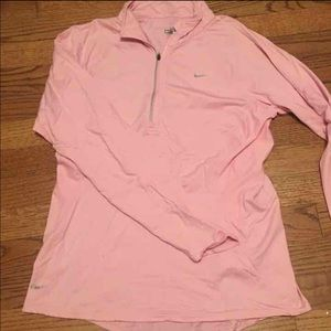 Nike Dry-Fit Pink Pullover