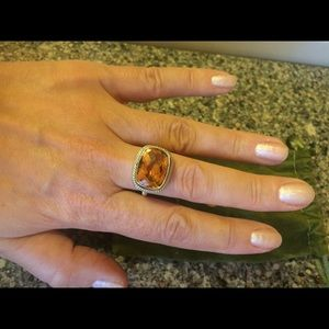Jewelry - SS lovely citrine ring