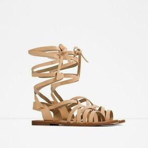 Zara leather sandal  (3672)