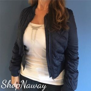 Shop N' Jackets & Blazers - 🆕 Navy Quilted Bomber Jacket