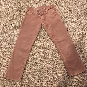 LN Gap Sexy Boyfriend Cropped Corduroy Pants 25P