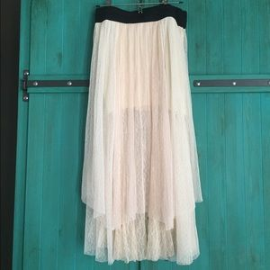 Free People Lace Skirt
