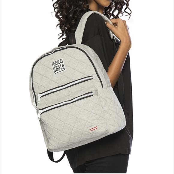 Peace Love World Donovan Quilted Backpack