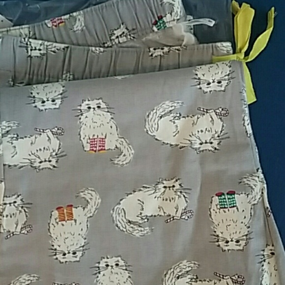 old navy pajama pants christmas cat - Christmas Pajamas Old Navy