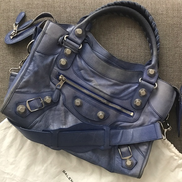 Balenciaga Bags - Balenciaga Giant City Bag, Outremer Blue 2010