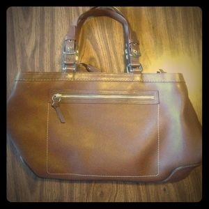 Coach Handbags - Leather Coach carryall tote