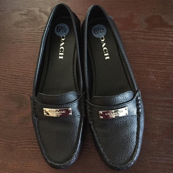 Coach Shoes | Coach Loafers Black 65
