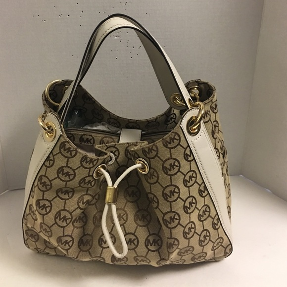 6d1ba1f585be87 MICHAEL Michael Kors Bags | New Michael Kors Ludlow Canvas Leather ...
