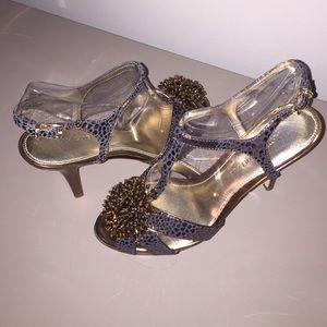 Antonio Melani bronze heels