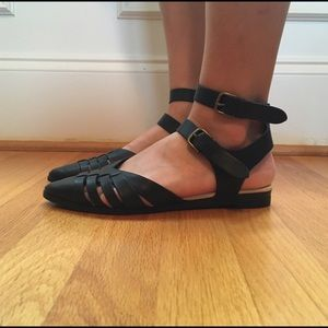 Restricted, Edgy Flats, Size 6.5, Gently Used