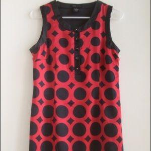 BCBGMaxAzria Dresses & Skirts - BCBG Macazria red and black silk material dress