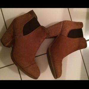 Vince Camuto Camel Booties