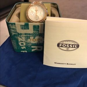 Fossil women's boyfriend watch