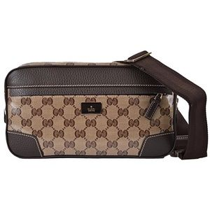 Gucci GG Guccissima Crystal Belt Bag