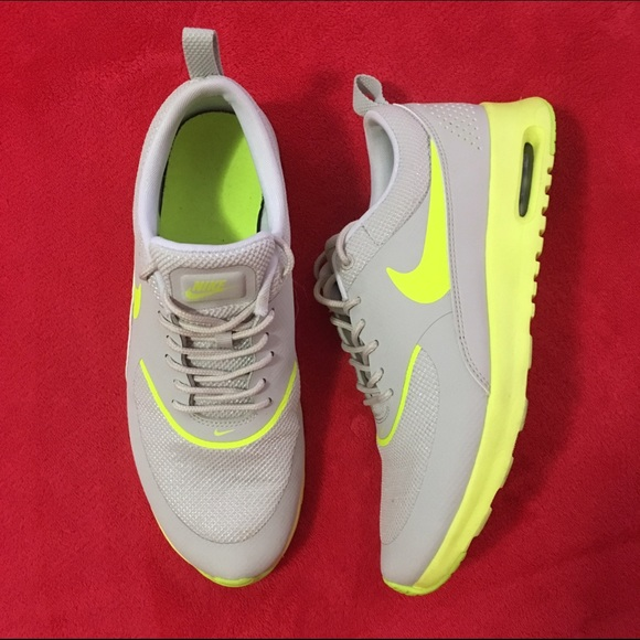 bd34216358e0 Nike Shoes - Women s Nike Air Max Thea - Gray   Neon
