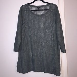 Plus size Talbots sweater hunter green size 2X