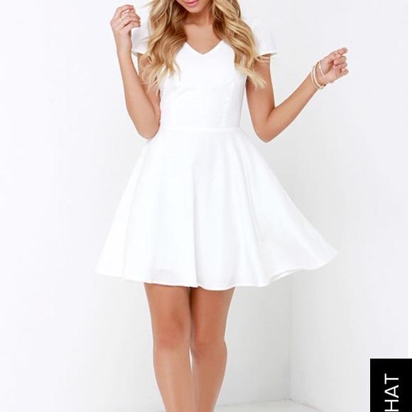 Lulu s Dresses   Skirts - Lulu s Open Back Skater Dress 900e52077