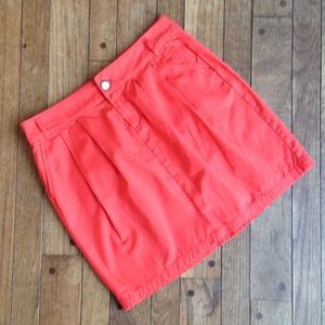 GAP Dresses & Skirts - GAP pleated coral skirt