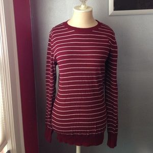 American Apparel Sweaters - American Apparel Unisex Crew Sweater in Burgundy