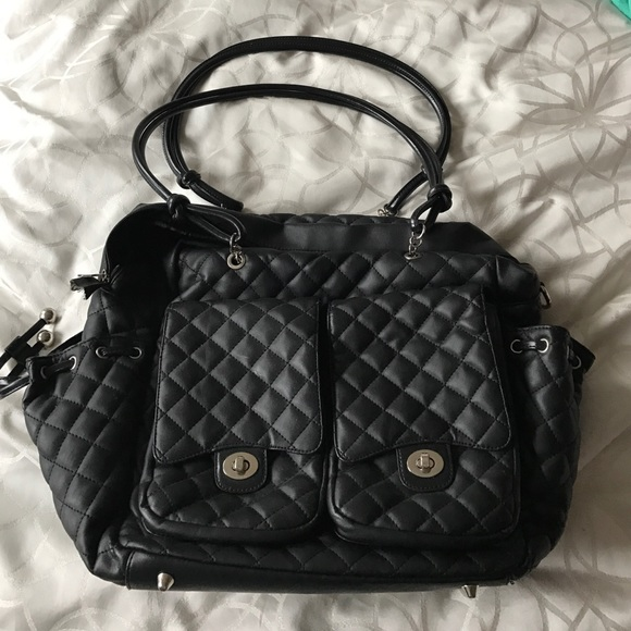 0a9b70a00dd1 Liv + Co Bags | Diaper Bag That Looks Like A Chanel Bag | Poshmark
