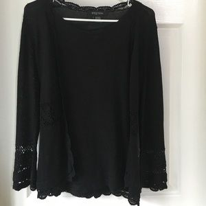 Etcetera knit cardigan with tank top included
