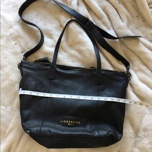 Liebeskind Handbags - Liebeskind Oversized Black Leather Tote