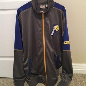 Indiana Pacers men's vintage warm up jacket