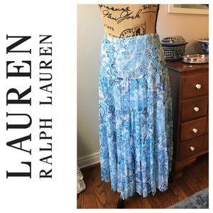 Lauren by Ralph Lauren Silk Skirt