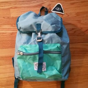 Poler Handbags - NWT Poler backpack field pack Newport mint  blue