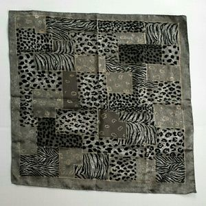 Accessories - Sparkly Animal Print Scarf