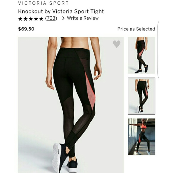 0c751394cd117 Victoria's Secret Pants | Knockout By Victoria Sport Tight | Poshmark