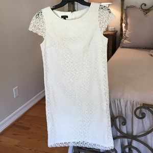 Talbots Dresses & Skirts - Talbots cream lace dress