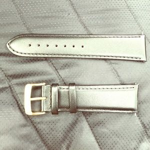 Speidel Other - Black Leather Watch Band