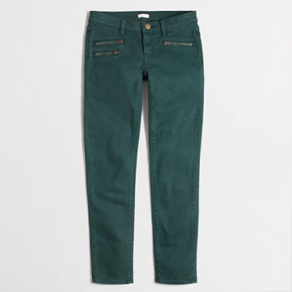 J. Crew Denim - {J. Crew} Factory Skinny Zipper Jean