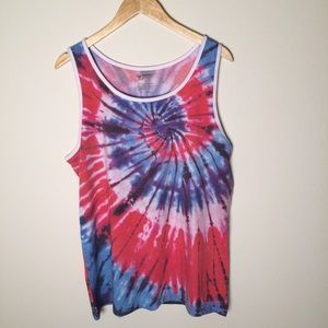 Arizona Jean Company Other - NEW Tie Dye Muscle Tee Shirt Psychedelic Tank Top