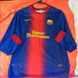 Barcelona Soccer jersey