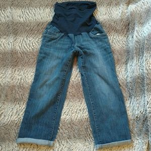 Jeans Maternity Capris