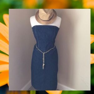 J. Crew Denim Dress ✨