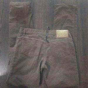 Authentic Dolce & Gabbana velour pants 42