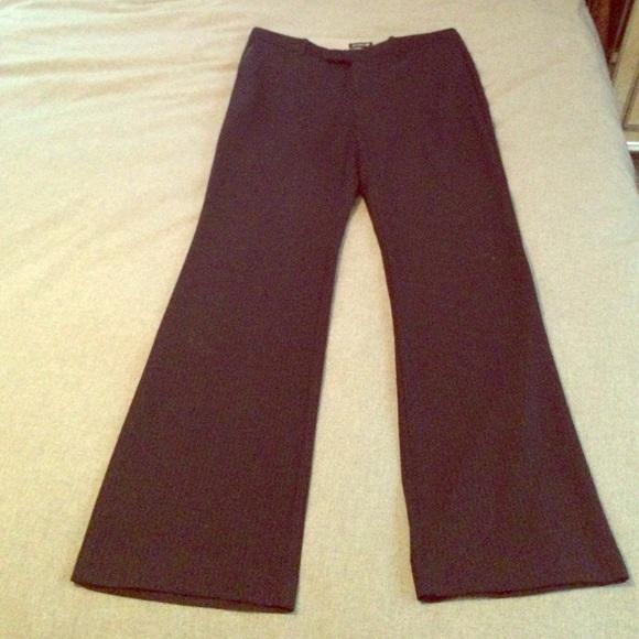 Dockers Pants - Dockers Pinstripe Dark Navy Dress Pants