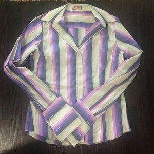 Thomas Pink Tops - Thomas Pink stripe blouse size 10