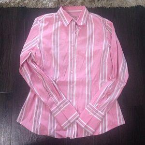 Thomas Pink Tops - Thomas Pink pink strip blouse size 12