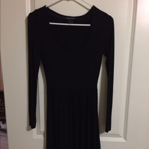 Black XS Skater Dress - French Connection
