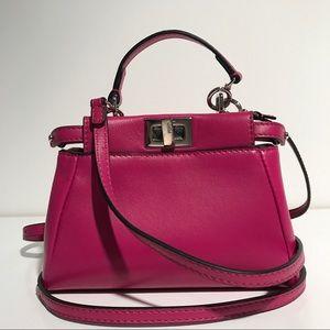 FENDI Handbags - Fendi Micro Perkaboo