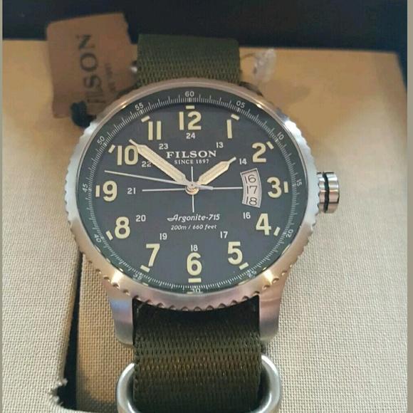 Filson Shinola Mackinaw Watch 08fc6bd81c